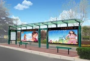 公交站台广告灯箱